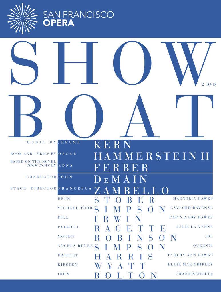 SHOW BOAT! (Blu-Ray only)
