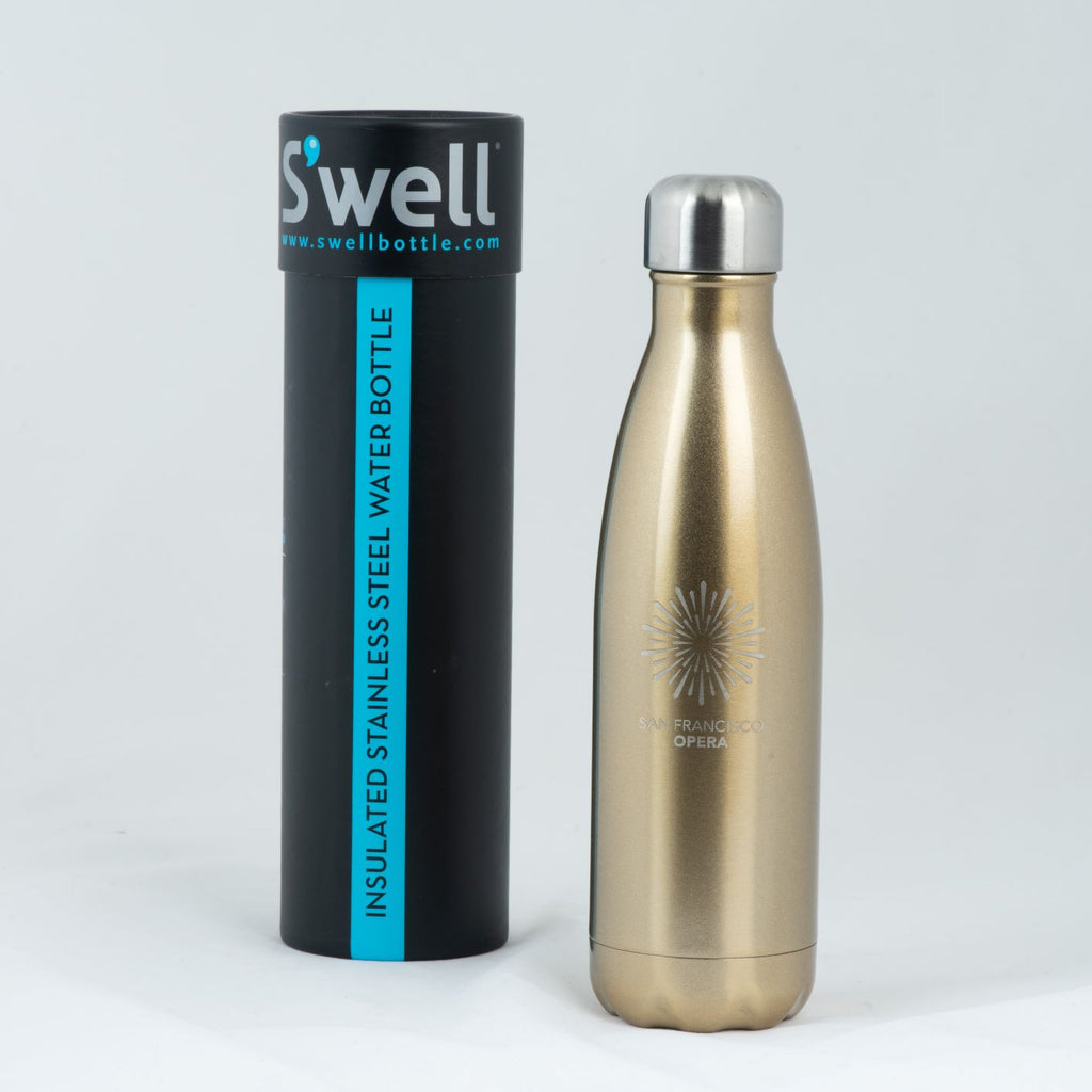 S'WELL San Francisco Opera Water Bottle