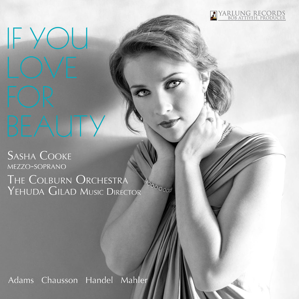 SASHA COOKE - IF YOU LOVE FOR BEAUTY CD