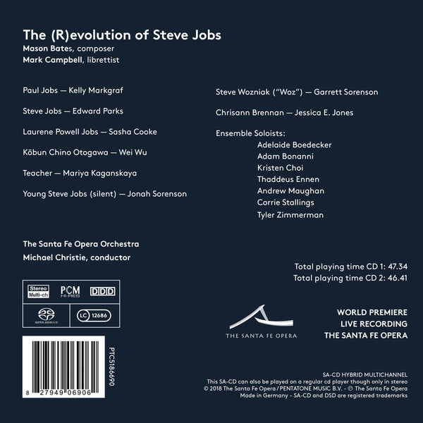 THE (R)EVOLUTION OF STEVE JOBS  Compact Disc