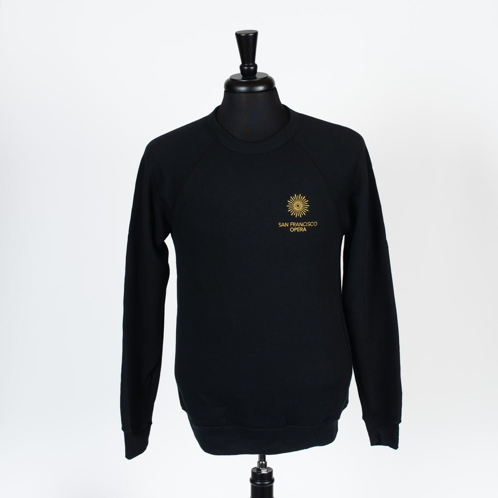 SWEAT- PREMIUM SAN FRANCISCO OPERA IN BLACK