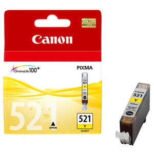 CANON CLI521Y YELLOW INK CART FOR IP4600