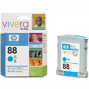 HP 88XL LARGE INK CARTRIDGE CYAN