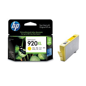 HP 920XL LARGE INK CARTRIDGE YELLOW