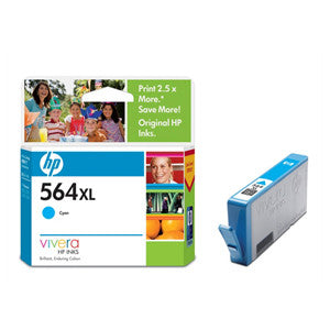 HP 564XL LARGE INK CARTRIDGE CYAN