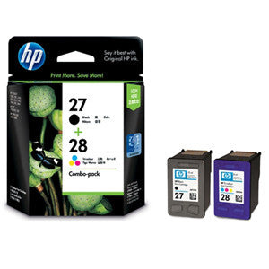 HP 27/28 INK CARTRIDGE COMBO PACK