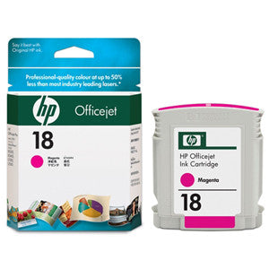 HP 18 INK CARTRIDGE MAGENTA