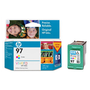 HP 97 INK CARTRIDGE TRI-COLOR