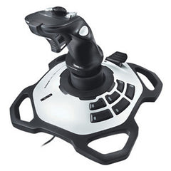 LOGITECH EXTREME 3D PRO JOYSTICK For PC/MAC advanced controls twist-handle 12 buttons 8-way hat switch rapid-fire trigger. 1 Year Limited Warranty