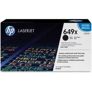 HP 649X BLACK HY LJ TONER CART CE260X