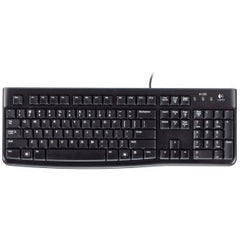 LOGITECH K120 USB KEYBOARD Sturdy spill-resistant design easy to read keys plug & plug USB connection standard layout. 3 Years Limited Warranty