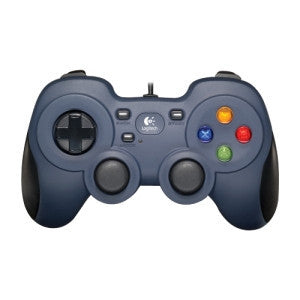 LOGITECH F310 GAMEPAD 10 programmable buttons L&R analog triggers programmable analog mini-joysticks 8-way D-pad. 1 Year Limited Warranty