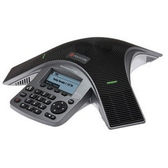 POLYCOM SoundStation IP5000 (SIP) conference phone. 802.3af Power over Ethernet. Includes 25ft/7.6m Cat5 Ethernet cable. Does not include China Russia.