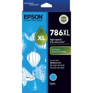 EPSON 786XL High Capacity DURABrite Ultra Cyan ink