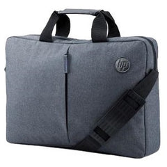 HP 15.6in ATLANTIS Value Carry Bag - Professional appeal in design and material - permanent shoulder strap (adjustable in length) that are breathable and ergonomically shaped