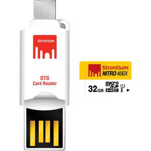 STRONTIUM TECHNOLOGY 32GB NITRO with OTG adaptor