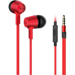 iLuv City lights-In earphone with mic - Red