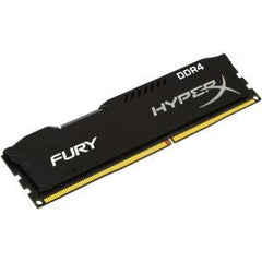 KINGSTON 4GB DDR4-2666MHz NON-ECC CL 15 DIMM HyperX FURY Black Series