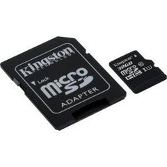 KINGSTON 32GB MICROSDHC CLASS 10 UHS-I 45R FLASH CARD FAR EAST RETAIL
