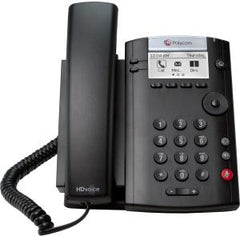 POLYCOM VVX 201 2-line Desktop Phone for MSL ync