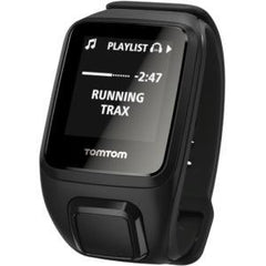 TOMTOM SPARK CARDIO+MUSIC: BLACK (LARGE) MOS