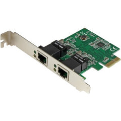 STARTECH 2 Port Gigabit PCI Express Network Card