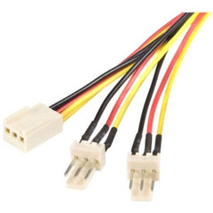 STARTECH 12in TX3 Fan Power Splitter Cable