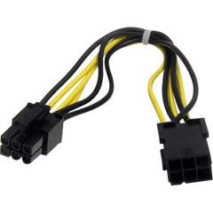 STARTECH 8in 6 pin PCIe Power Extension Cable
