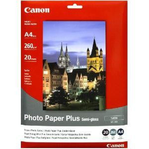 CANON SG201A4 A4 PHOTO PAPER 20SHEETS 260GSM