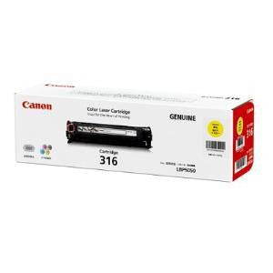 CANON CART316Y YLLW TONER CART FOR LBP5050