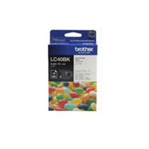 BROTHER LC40BK Ink cartridge black 300 pages 5%
