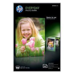 HP Everyday Glossy Photo Paper 100 sht / 10 x 15 cm