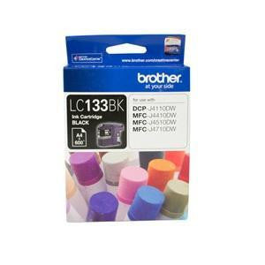BROTHER LC133BK : Ink cartridge Black with 600 page yield 5% covereage