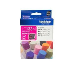 BROTHER LC133M : Ink cartridge Magenta with 600 page yield 5% covereage
