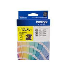 BROTHER LC135XLY : Ink cartridge Yellow with 1200 page yield 5% covereage