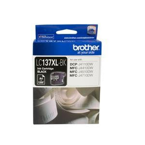 BROTHER LC137XLBK : Ink cartridge Black with 1200 page yield 5% covereage