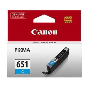 CANON CLI651COCN CYAN INK CART (STD)
