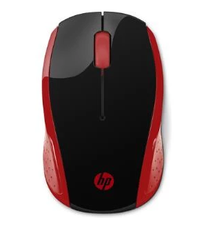 HP WIRELESS MOUSE 200 (EMPRESS RED)