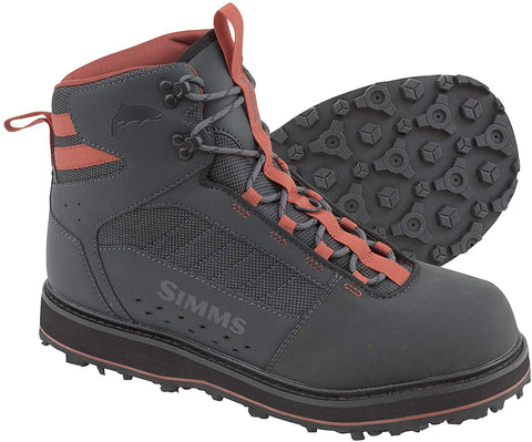 Simms Tributary Wading Boots - Rubber Soles