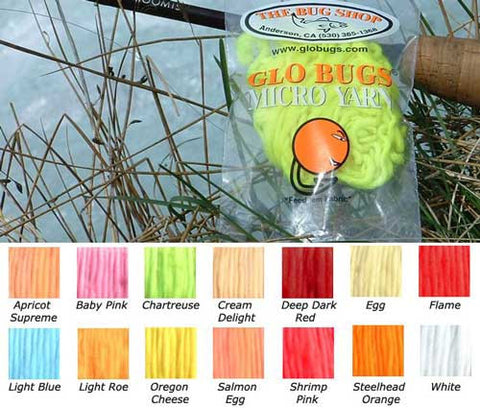 Glo Bug UV Micro Yarn