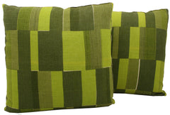 Abstract Mid-Century Pillow Pair