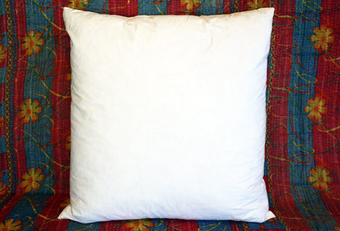 "Goose Down/Feather Pillow Insert 16"" x 16"" INT00003"