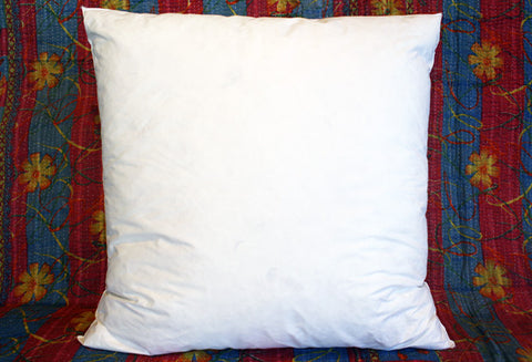 "Goose Down/Feather Pillow Insert 22"" x 22"" INT00006"