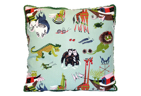 Whimsical Noah's Ark Theme Pillow VPL00468