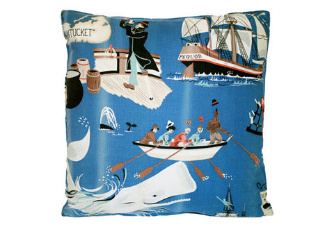 Whimsical Moby Dick Theme Pillow VPL00469