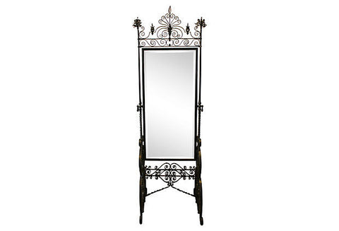 Victorian Era Floor Mirror MRR00001