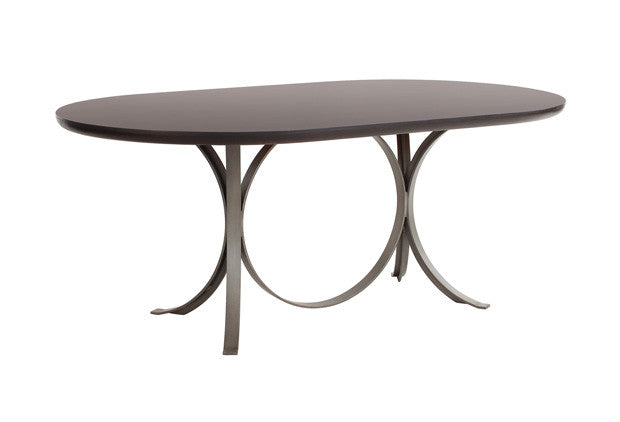 Manhattan Oval Dining Table DNT00009