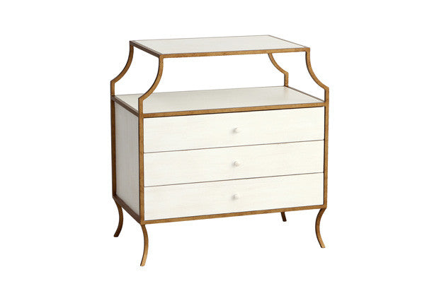 Milla Side Table w/ 3 Drawers SDT00016