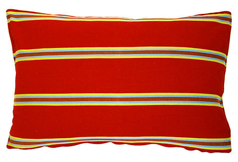 Chiapan Stripe Pillow