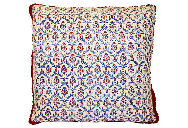 Indian Floral Pattern Pillow VPL00351